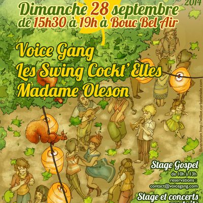 Festival des voix sous les Platanes