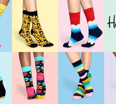 Happy Socks, les chaussettes suédoises