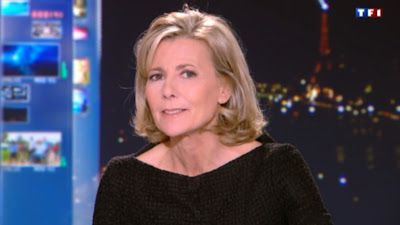 2013 01 25 - CLAIRE CHAZAL - TF1 - LE 20H @20H00