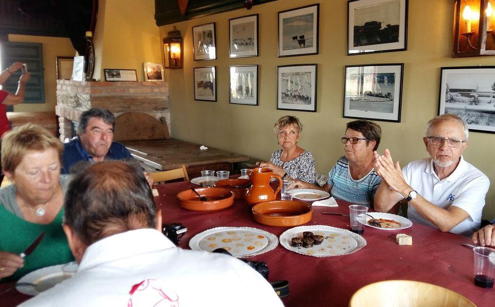 Le repas chez Antonio BAÑUELOS