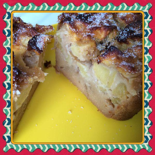 Cake pommes Carambar