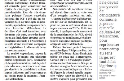 Présidentielle 2022 : Fabien Roussel se prépare, mais fera voter les militants