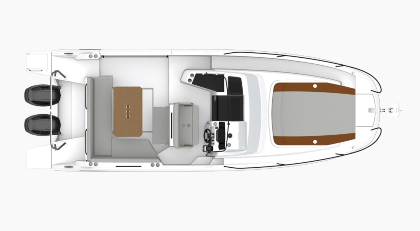 Scoop - first pictures of the new Bénéteau Flyer 9 SunDeck