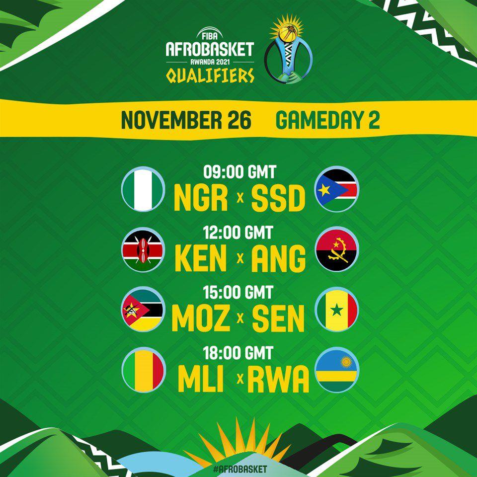 AfroBasket 2021 : Confirmation du programme de la prochaine fenêtre qualificative