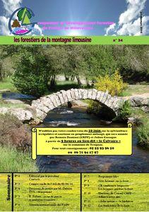 Journal des forestiers de la Montagne limousine, n° 34