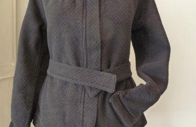 Ma nouvelle veste en coton bio