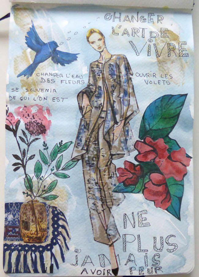 ART JOURNAL ET DESSIN - 23/3/21
