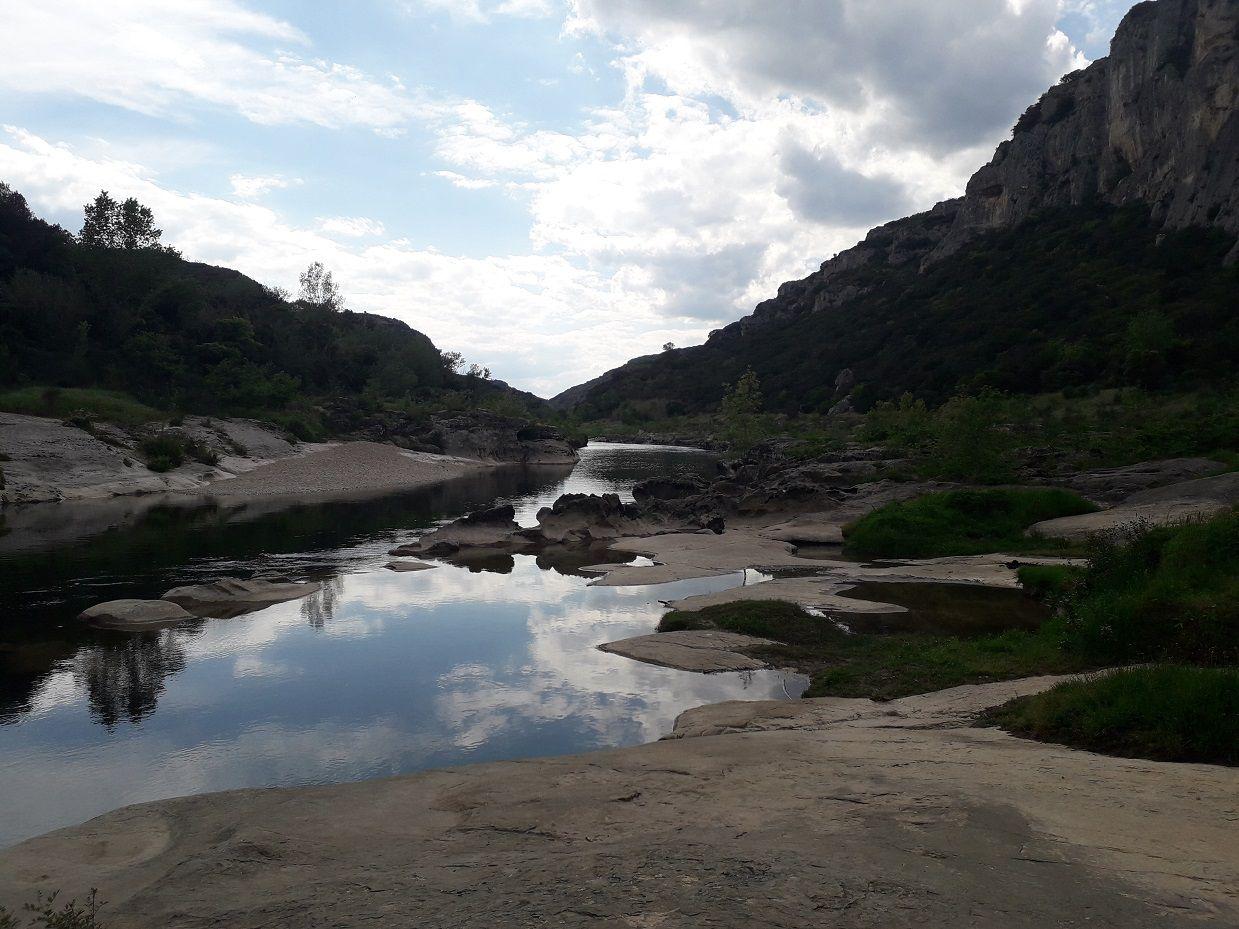 Petite randonnée à Collias (30).