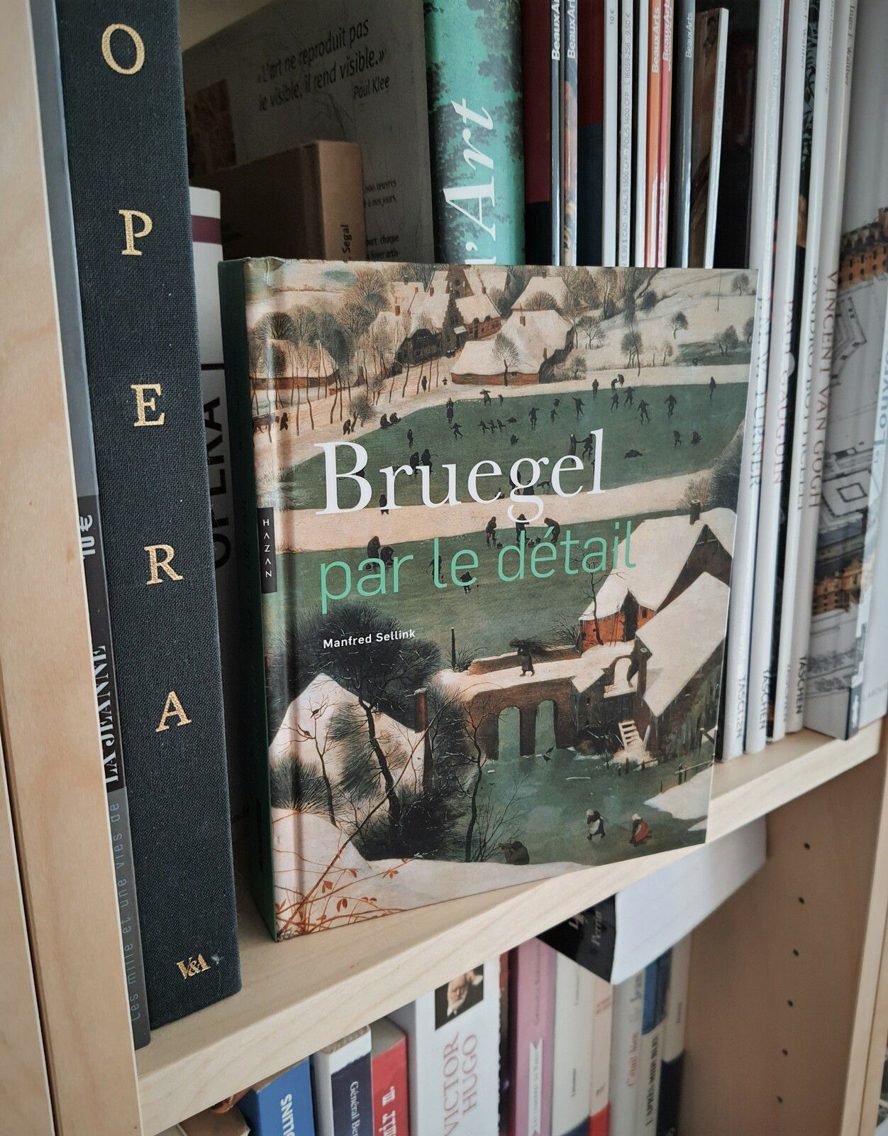 Bruegel par le détail -  Manfred Sellink - Editions Hazan - couverture