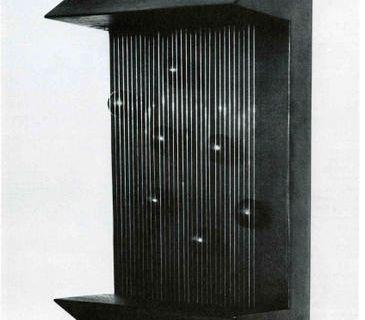 12 et 13 cordes verticales et leur cylindre @ Pol Bury. 1973