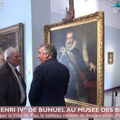 Henri IV de retour au Musée des Beaux Arts (18 juin 18)   HPyTv La Télé de Pau