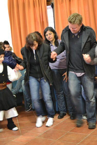 Dans le cadre de notre projet européen sur les droits de l'enfant, nous avons rencontré nos partenaires en Sardaigne