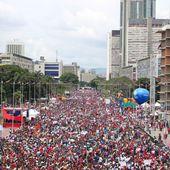 """VENEZUELA : """"nos"""" médias n'ont pas vu les manifestations de soutien au pouvoir bolivarien !"""
