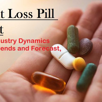 The Growing Popularity of Appetite Suppressant Pills Is Driving the Global Weight Loss Pills Market
