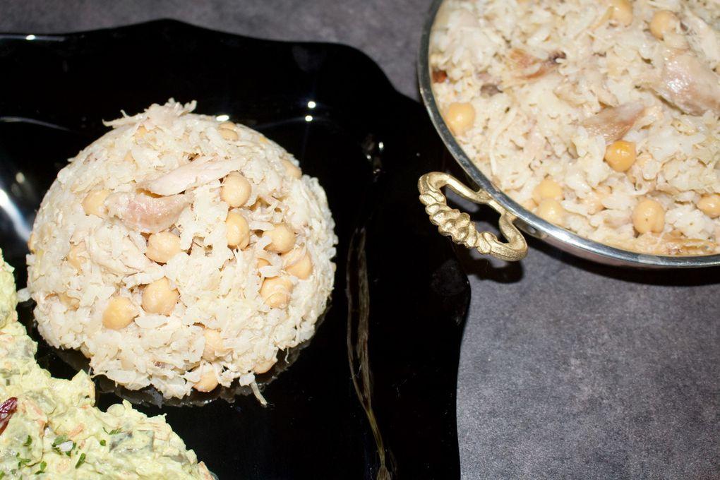 Riz pilav au poulet