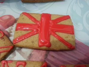 BISCUITS UNION JACK