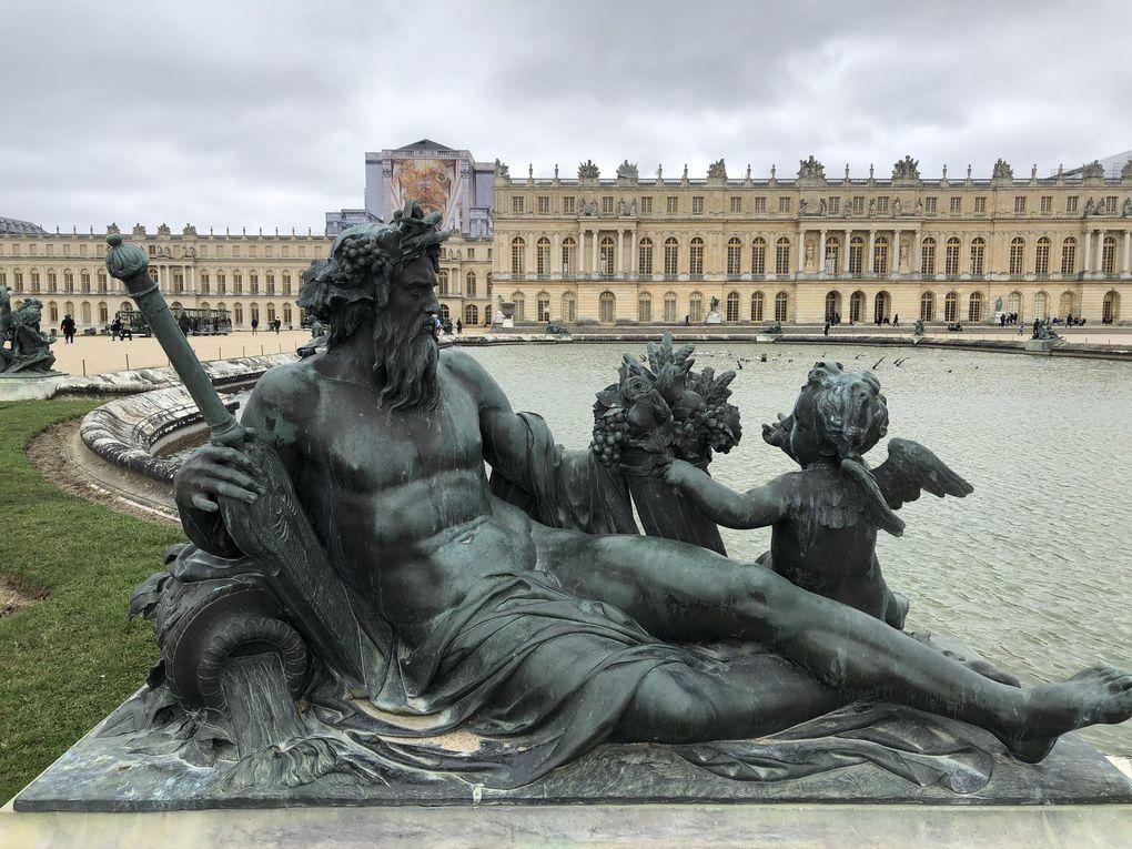 Randonnée dans le parc du château de Versailles - 11 km.