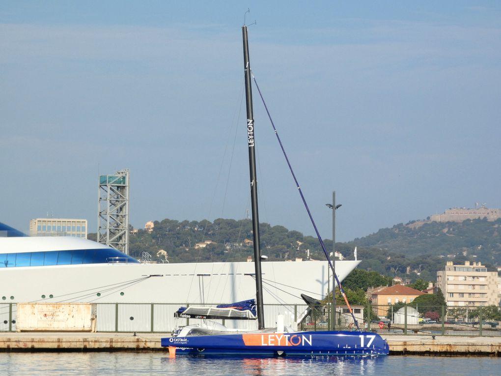 JADEX SOLO SAILOR , a quai au port de la Seyne sur Mer le 21 juillet 2021