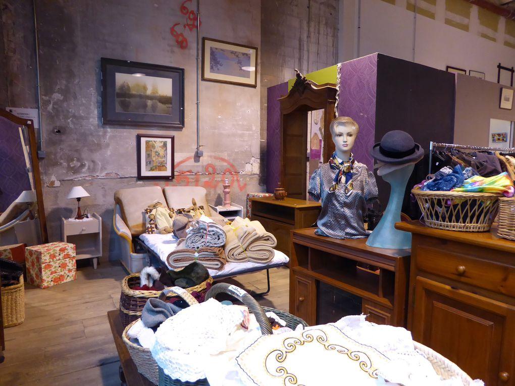 L'appartement-boutique d'Emmaüs.