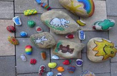 Kindergarten St. Martin startet Mitmachaktion mit Mut- und Hoffnungssteinen für Veitshöchheimer Kinder