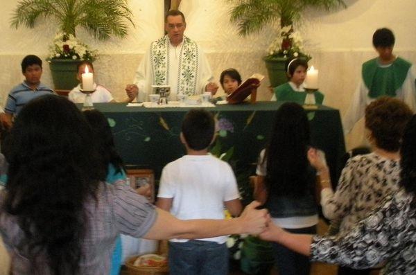Une messe si vivante au Mexique     Dédiée à Stéphane