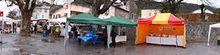 Le Marché de Noël pluvieux de la Mure Argens (reportages photos)