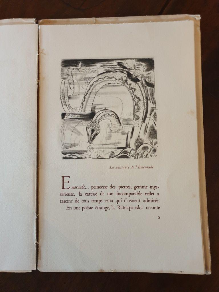 L'Emeraude pour G. MAUBOUSSIN 1928 par TOLMER et CAILLAUD - 70 euros