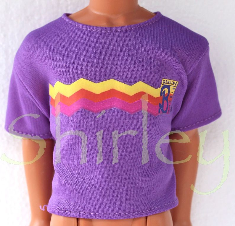 """""""COOL JEANSFASHIONS"""" KEN DOLL CLOTHES 1989 MATTEL #8731"""