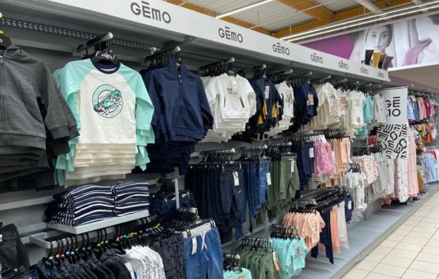 Grande distribution : Shop-in-shop Gémo chez Intermarché !