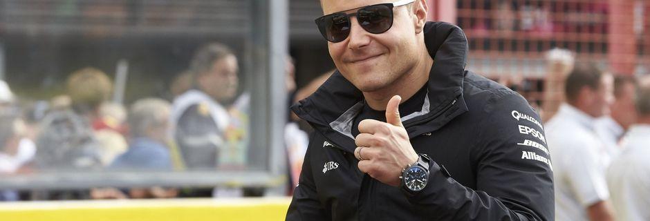 Mercedes conserve Valtteri Bottas pour 2018