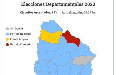 Uruguay vivió una fiesta democratica