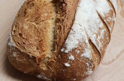 """Défi : Faire du pain avec de la farine """"non panifiable"""""""