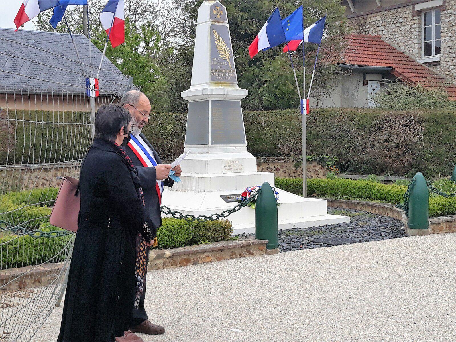 COMMEMORATION DE LA VICTOIRE DU 8 MAI 1945