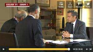 Nicolas SARKOZY sur TF1 : sa gestuelle en fait-elle un coupable ?