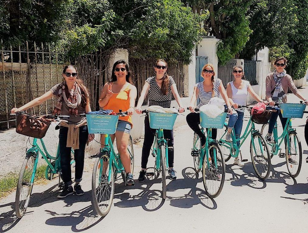 Des exemples de sorties à vélo dans le cadre du Lemon Tour.  (Crédit photo © Le Lemon Tour)