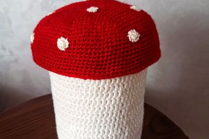 the serial crocheteuses & more n° 553 : les champignons