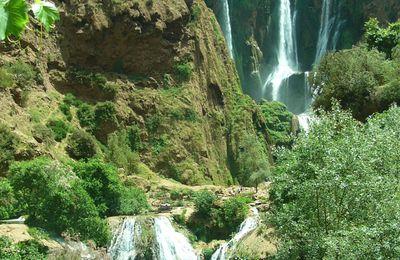 Les chutes d'Ouzoud Maroc Avril 2008