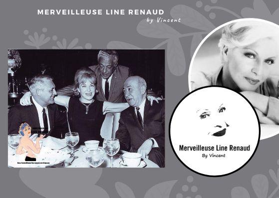 PHOTOS: Line Renaud et Cary Grant 1964