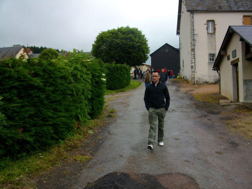 Photos de la randonnée de Montsauche-les-Settons le 20 juin 2010.