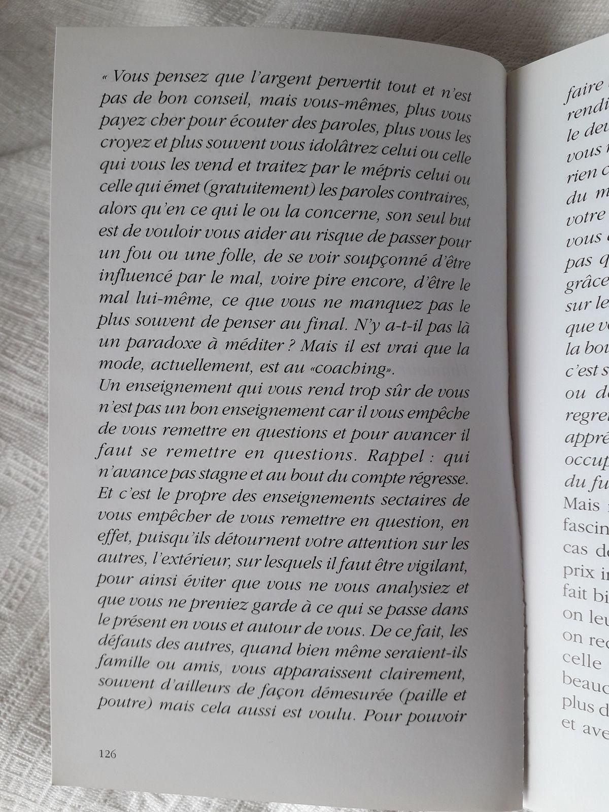 Suite Pluie de Poussières d'Etoiles, page 126 à 129