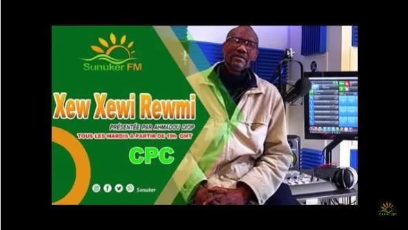 "Emission ""XEW XEWI REWMI"" du mardi 28 JUILLET 2020 avec Ahmadou Diop"