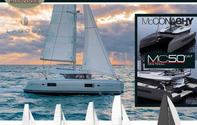 Ancasta to present world launch of MC50 catamaran from McConaghy at international multihull show