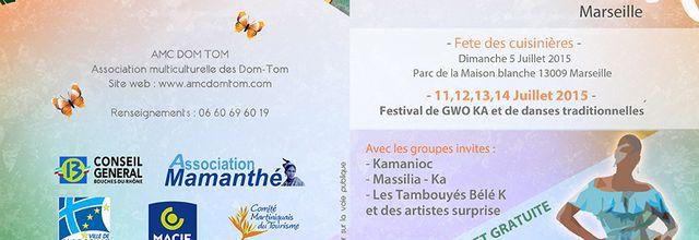 Du 11 au 14/07/15 - Festival Antillais - Marseille