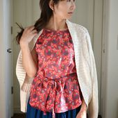 Tea Rose Home: New Top for Spring
