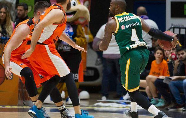 Eurocoupe : Limoges veut récidiver face à Valence toujours invaincue en Liga ACB