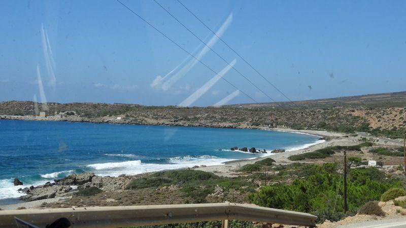 La côte Ouest de la crète