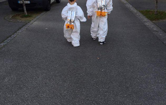Mes astronautes !!