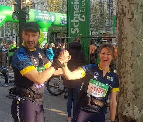 Marathon Paris - Trail Champ du Loup