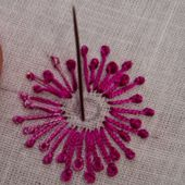 French Knot - Hand Embroidery