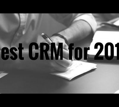 Best CRM Application 2017